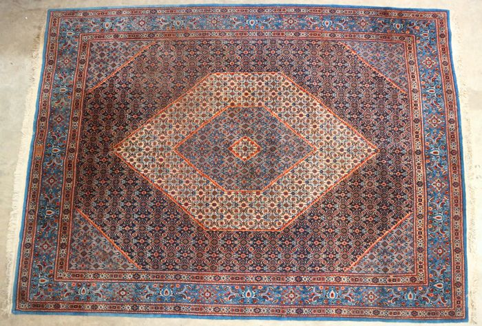 Large Persian Moud carpet, 342 x 252