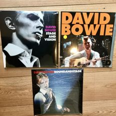 David Bowie Live Recordings || 3  LP's Limited Edition! || New In Sealing