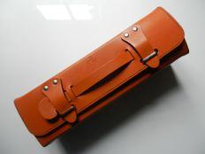 Ferrari Schedoni Battery Charger in leather case