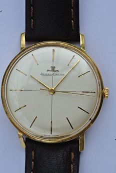 fa87e7772d9 Jaeger-LeCoultre - gold men s wristwatch - around the 1950s.