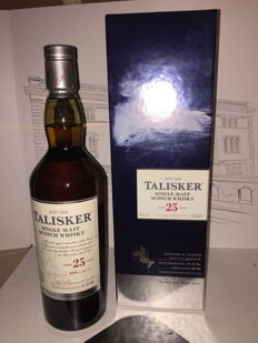 Talisker 25 years old 70 cl 45%