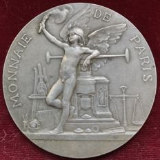 "France - ""Universal Exposition / Coin of Paris"" medal, 1900, by Daniel Dupuis - Silver"