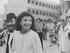 Richard Melloul & William Karel/ Sygma - Jackie Kennedy-Onassis - Israel - 1978