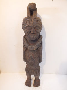 Old Sculpture, Kuyu, DR Congo - Africa