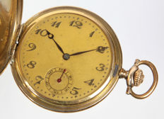 Antique savonette - pocket watch - around 1925.