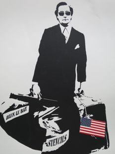 "Blek The Rat - ""The Man Who Walks Through Walls"""