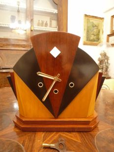 Full Restored Westminster Mantel Clock Art Deco