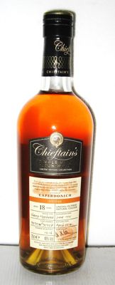 Caperdonich 1995 18 Years Old- Speyside - 70cl. - 48% - Chieftain's