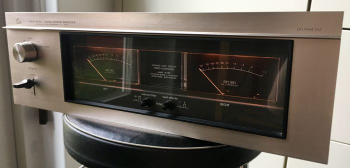 Rare TOP Vintage Luxman M-150 power amplifier from 1974 in superb optical  and technical condition - Catawiki