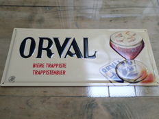 Perfect advertisement sign Orval Trappist beer - 2003
