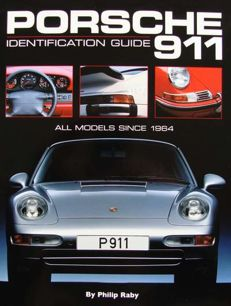 2 Books on Porsche 911 - Identification Guide - All Models Since 1964  & Scrapbook