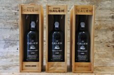 1985 Vintage Port Calem - 3 bottles in OWC