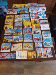 Various- 47 Lego manuals among others Castle / Classic Town / Trains / Technic
