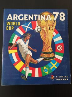 Panini - FIFA Worldcup Argentina 78 - Very nice complete album.