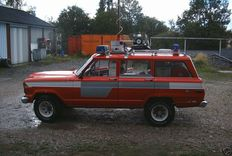 Jeep Wagoneer CHEROKEE 5.9 V8 FIRE DEPARTMENT-1979