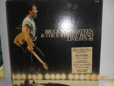 Bruce springsteen  ''lot of 8 albums  incl  1 double & 5 lp box & 3 maxi singles