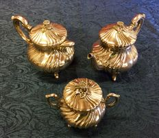 Tea set, Italy, Vercelli Casaudi & Gautero 20th century