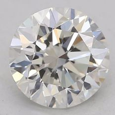 0.70 ct briljant geslepen diamant H-VS1