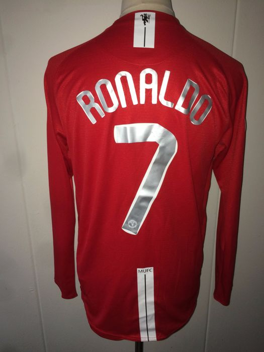 newest collection a62fa 323bd Cristiano Ronaldo - Manchester United Champions League final ...