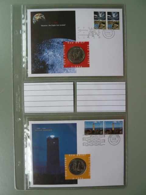 The Netherlands – Collection ECU letters, Teleletters and 'First day cards'