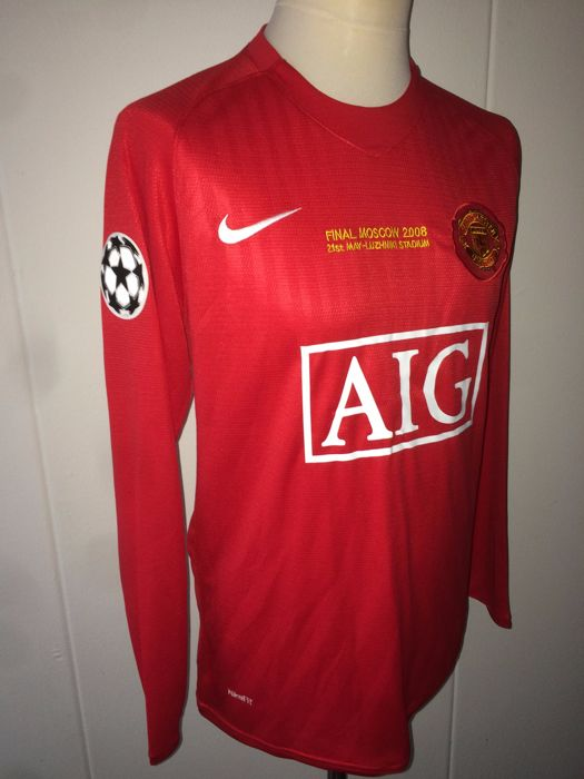 newest collection 51c44 a29cc Cristiano Ronaldo - Manchester United Champions League final ...