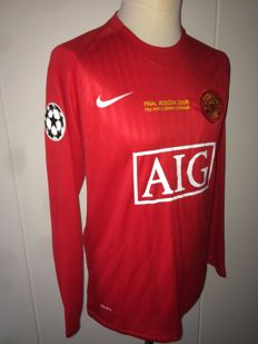 Cristiano Ronaldo - Manchester United Champions League final shirt 2008
