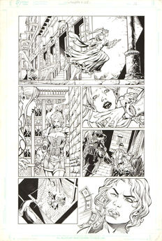 Benes, Fred - Original page (p.13) - Witchblade #158 - (1995)