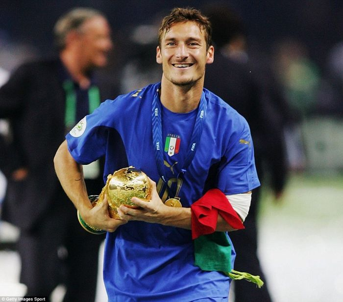 Image result for totti 2006