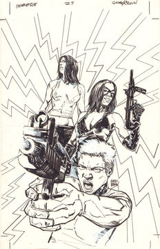 Brown, Garry - Original cover - Incorruptible #27 - (2012)