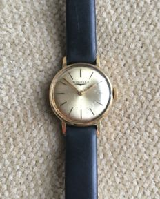 Longines 18 kt solid gold women's watch from 1968
