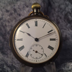 Men's pocket watch - Open face - Around 1910