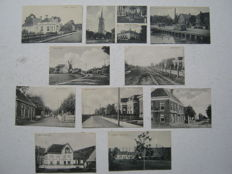 The Dutch-province of Groningen, Usquert-10 postcards-from 1920