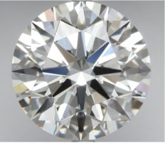 0.71ct Round Brilliant Diamond D IF IGI 3EX - SEALED - Serial# 1848