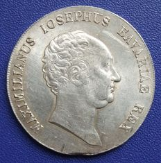 Old Germany, Bavaria - Crown Taler 1816 - silver
