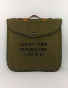 TOPOGRAPHY POSITION CORRECTOR - Type MM - Italian Army Artillery