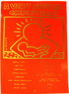 Keith Haring - 'A Very Special Christmas'