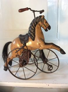 Most decorative tricycle horse