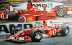 Enzo Naso - Ferrari Signed and numbered lithograph