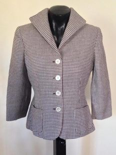 Ralph Lauren – Houndstooth jacket in linen