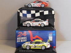 Minichamps - Scale 1/43 - Lot with 3 x Porsche 911 GT3 RSR 24h Le Mans 2006