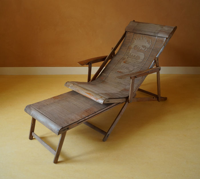 Bamboo Lounge Chair, Far East   China   Mid 20th Century