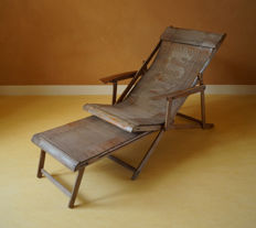 Bamboo lounge chair, Far East - China - mid 20th century