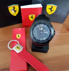 Ferrari watch and very rare key pendant