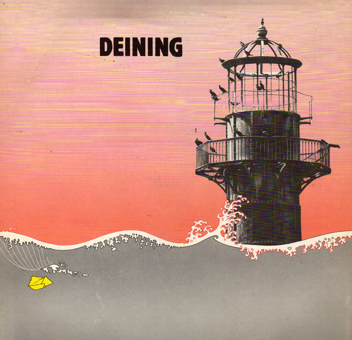 Almost impossible to find Dutch Folk-Rock album: DEINING (Crossroad CR 28133)