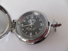 Spirit Of St. Louis - New York - Paris 20 May 1927 -  pocket watch - 20th Century