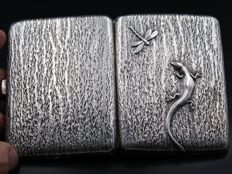 Very Nice Solid Silver Cigarette Case