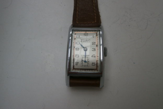 MEDANA mens' Swiss Roamer cal MST 320 - new condition from 1939 - cylinder movement - super collector's item