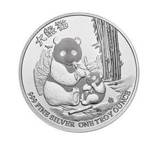 First Edition - Niue PANDA 2017 - 1OZ 999 silver - Limited Edition!