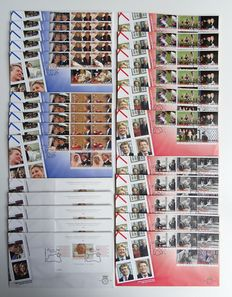 The Netherlands 1979/2006 - Batch over 2200 FDCs in four boxes