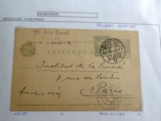 Hungary 1900/1947 - batch of 92 letters